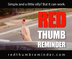 red thumb 2